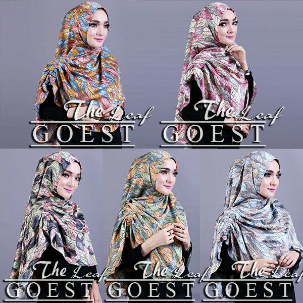 The leaf khimar by goest seri