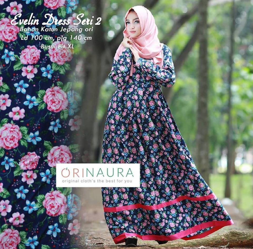 evelin dress navy