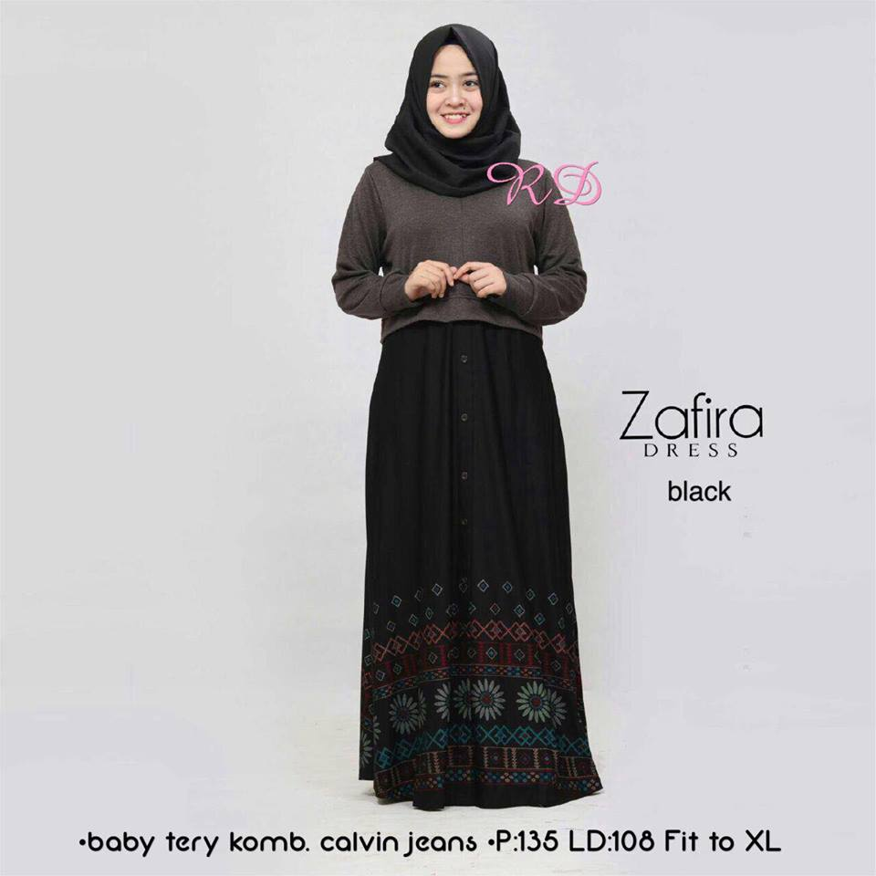 zafira dress black