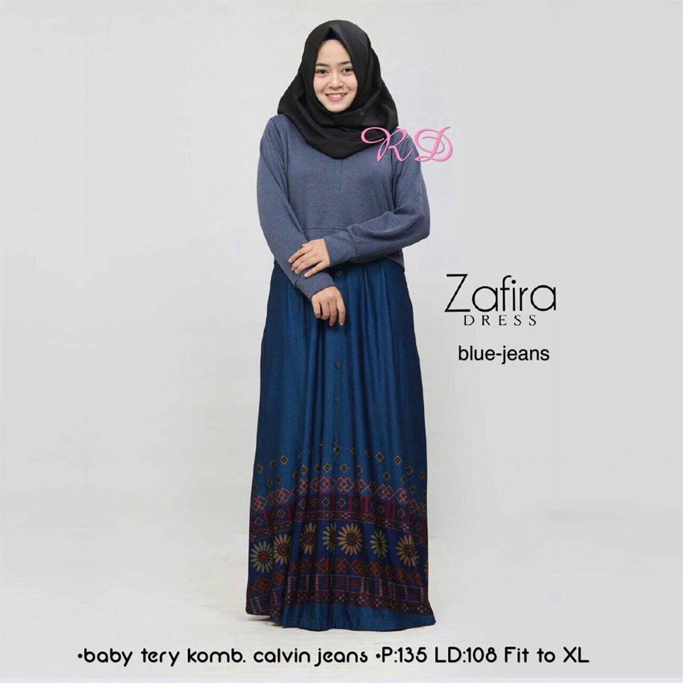 zafira dress blue jeans