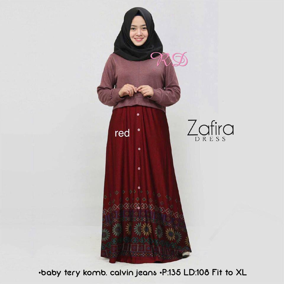 zafira dress red
