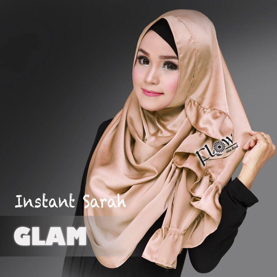 instant sarah glam by flow - coklat