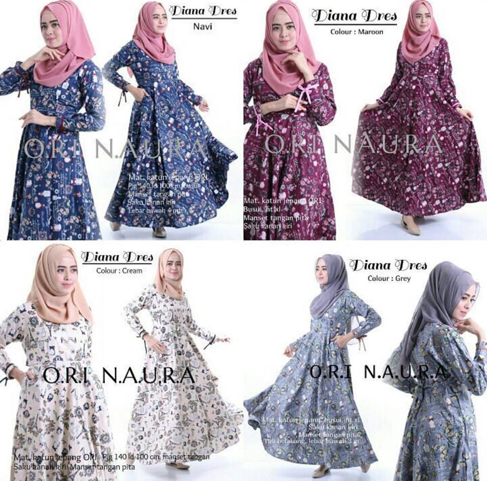 diana dress ori naura SERI2