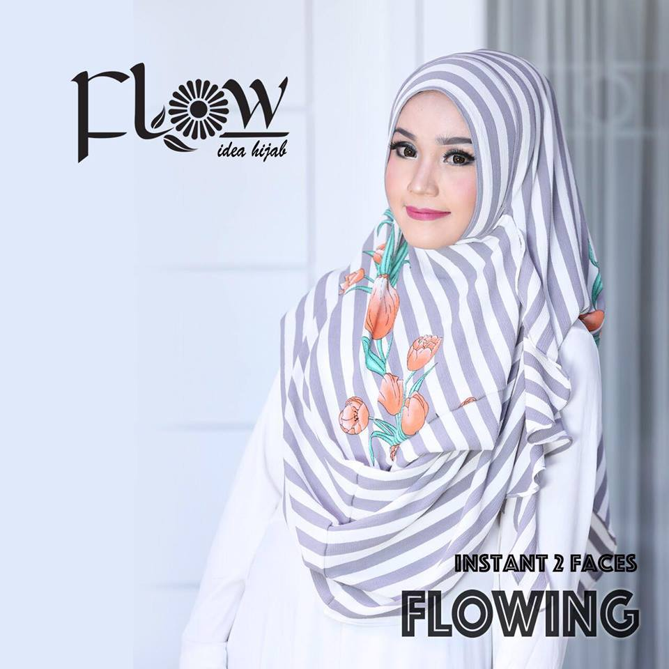 flowing instan 2face stripe abu