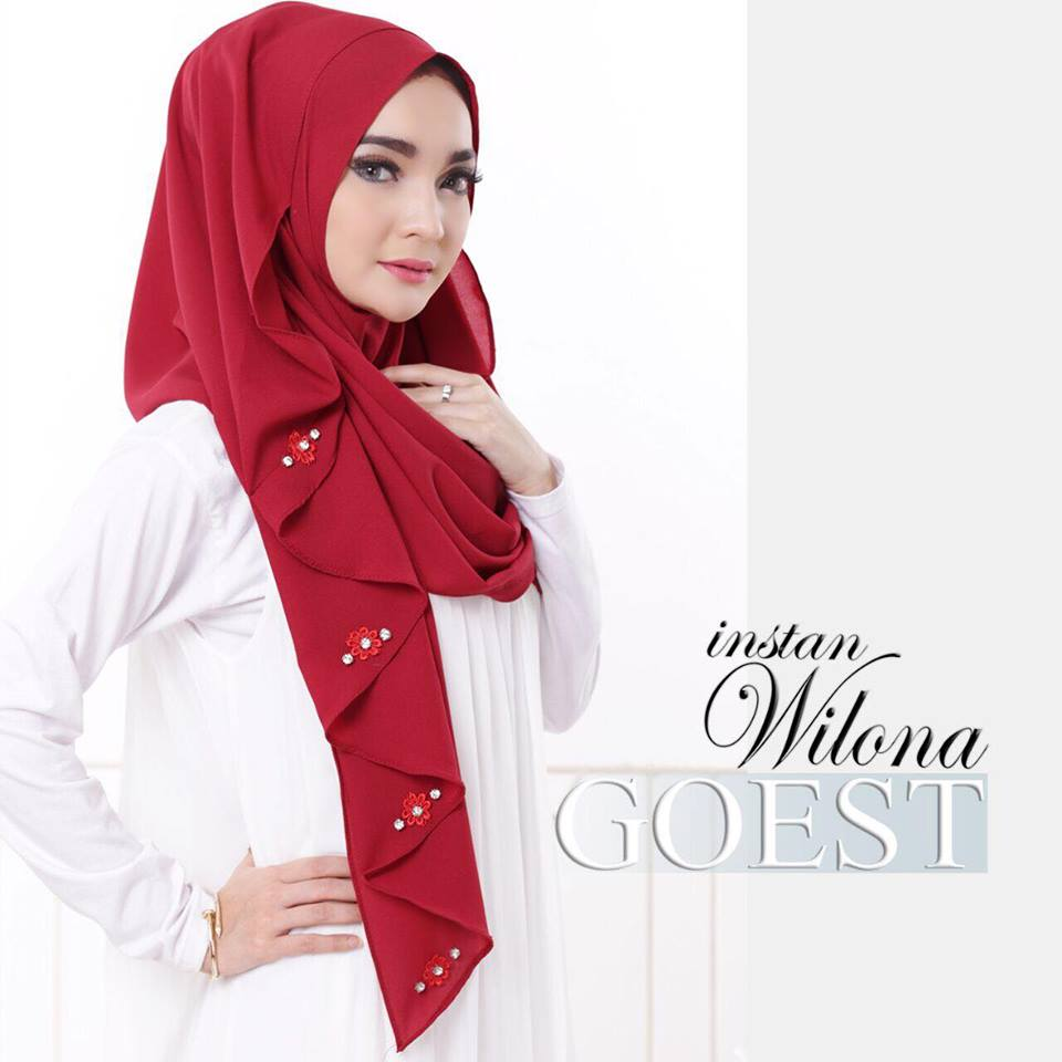 Instant Wilona by GOEST merah