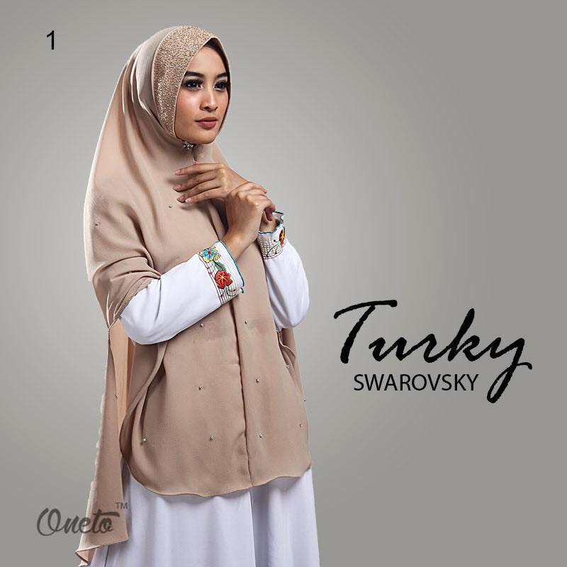 Khimar Turkey Swarosky by oneto coksu