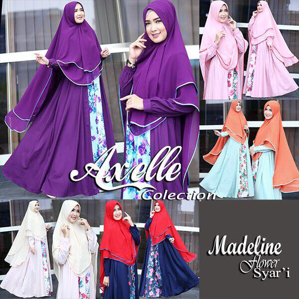 Madeline Flower syar'i by Anebelle collection seri