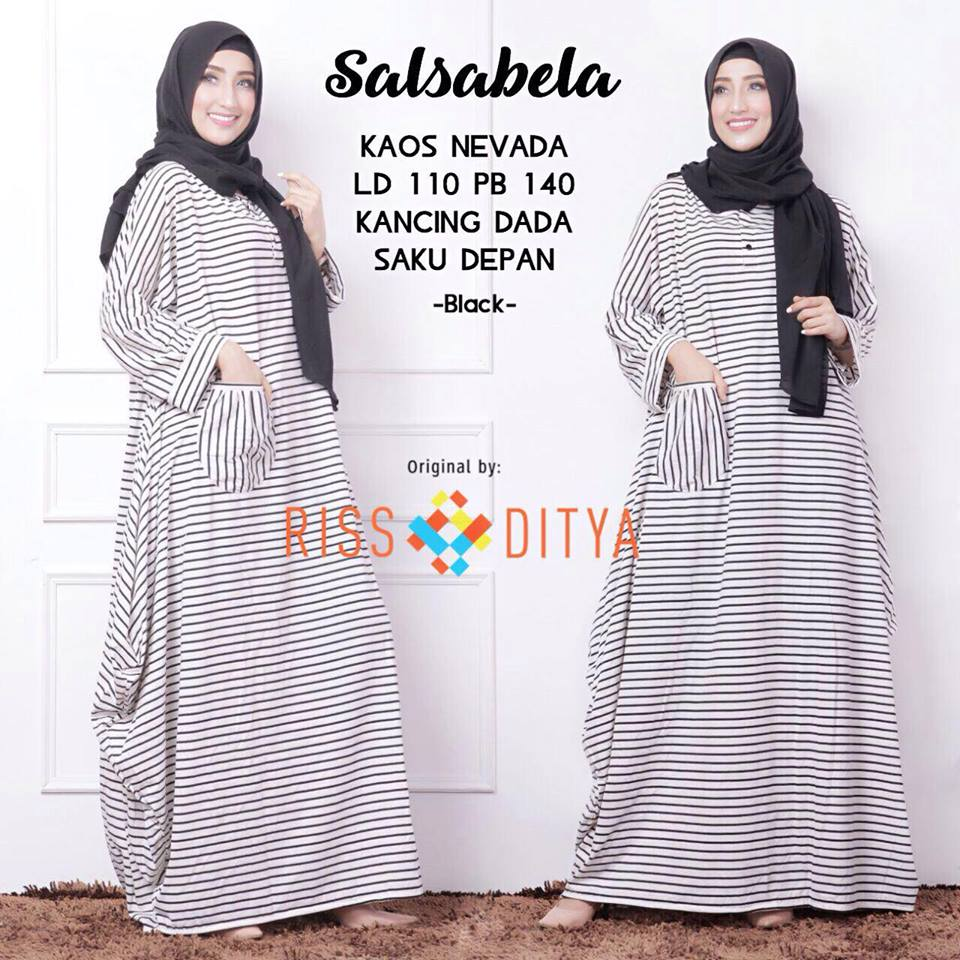 Salsabela dress by rsd black