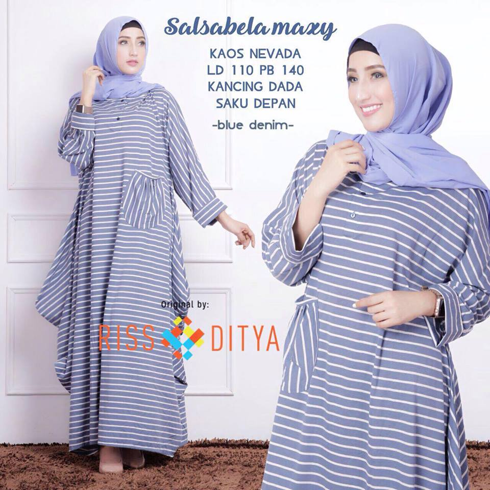 Salsabela dress by rsd bluedenim