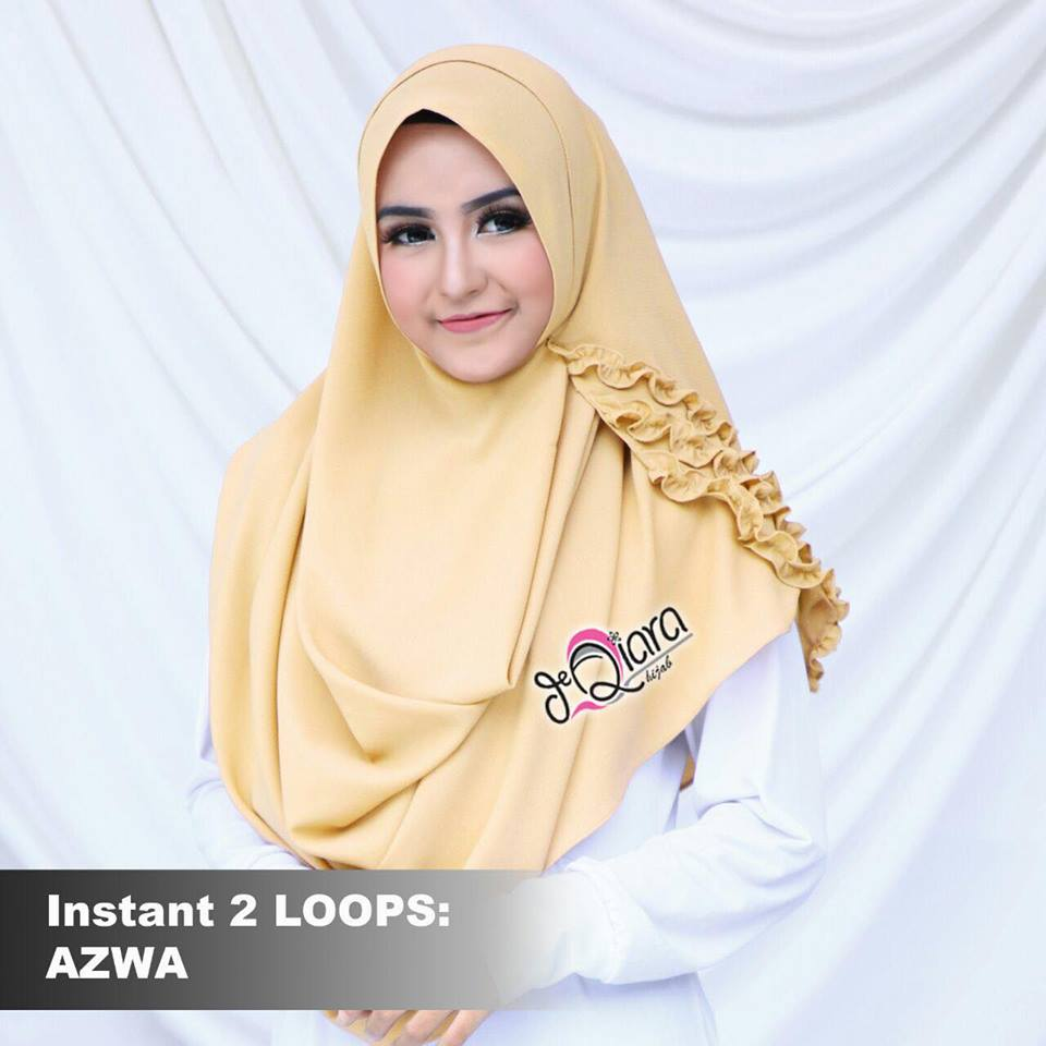 instant 2loops azwa by d'qiara kuning