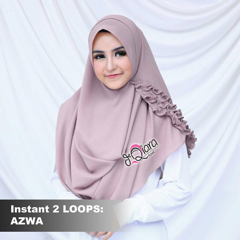 instant 2loops azwa by d'qiara rossybrown