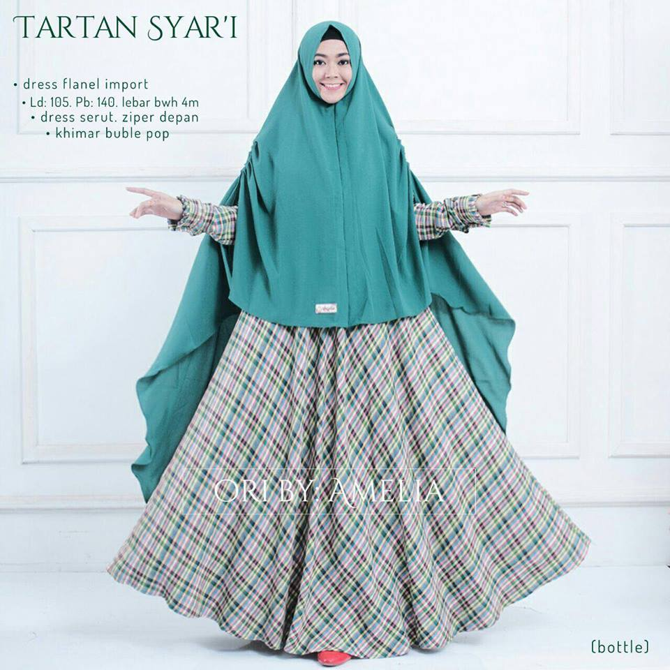 tartan syar'i by amelia bottle