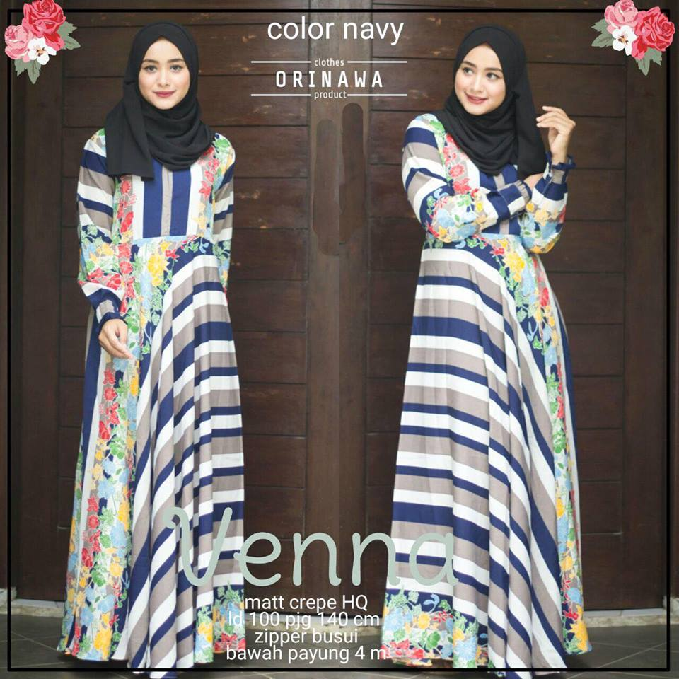 venna dress by orinawa navy