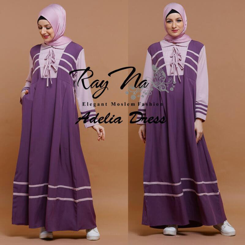 Adelia Dress by Ray na ungu