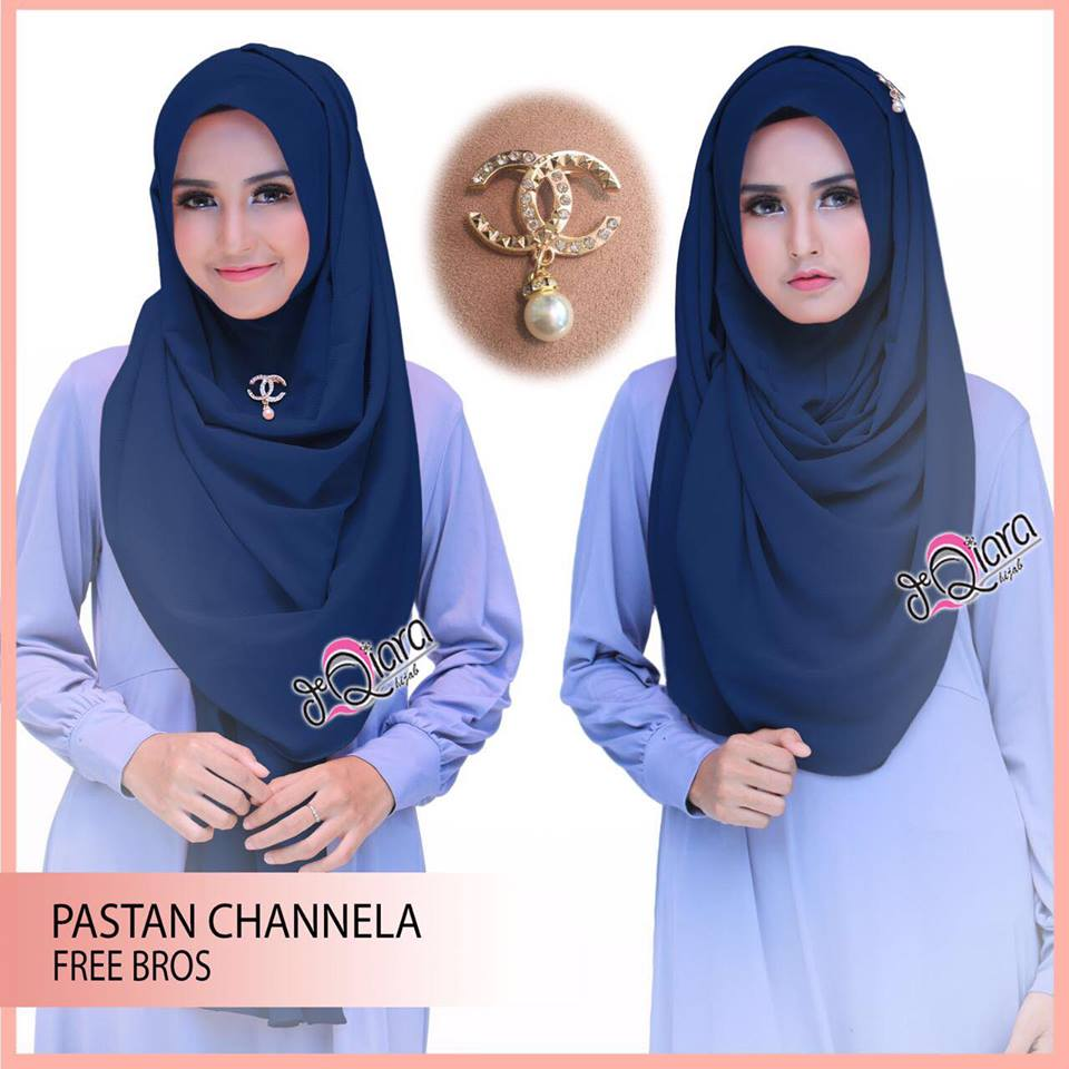 Instan Channela by DeQiara navy