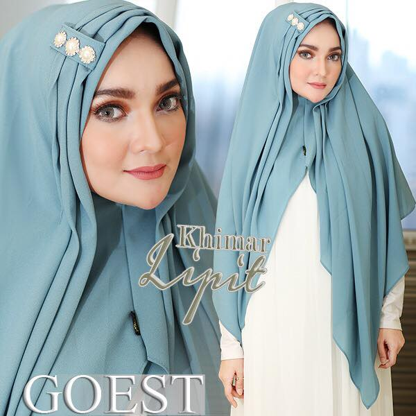 Khimar Lipit By Goest mint