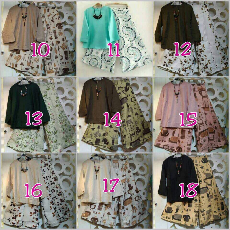 Kulot Set By Kalena Seri 2