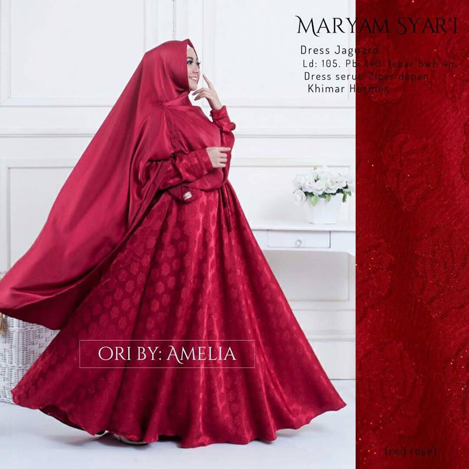 Maryam Red Rose