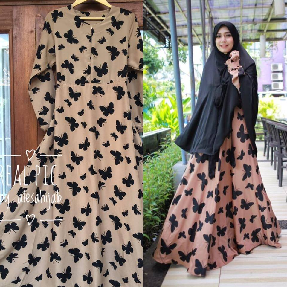 Monalisa Dress + Furing butterfly