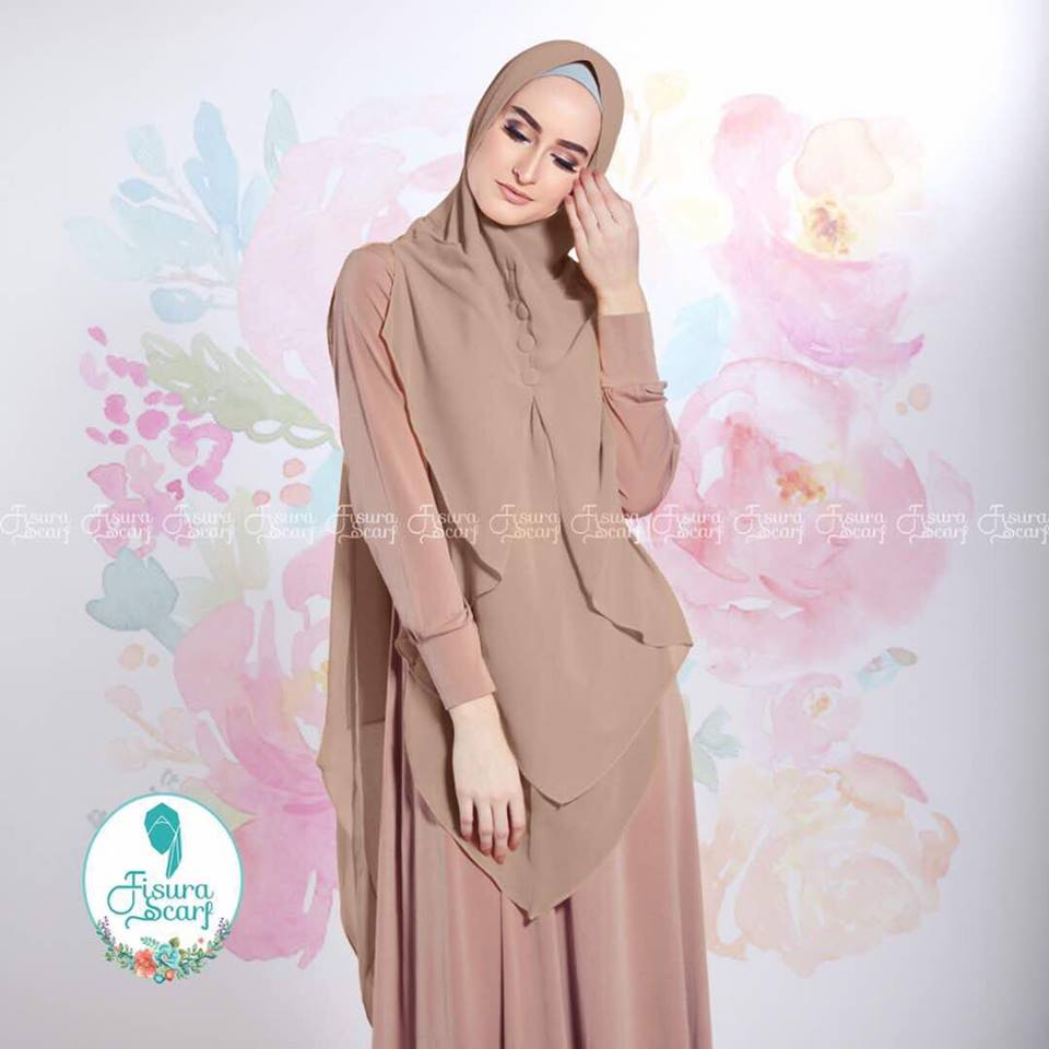 New Khimar Alona By Fisura Scarf cok