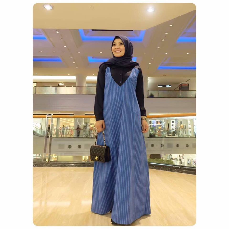 Vania Dress By D'Lovera Biru