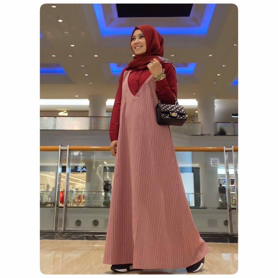 Vania Dress By D'Lovera Merah