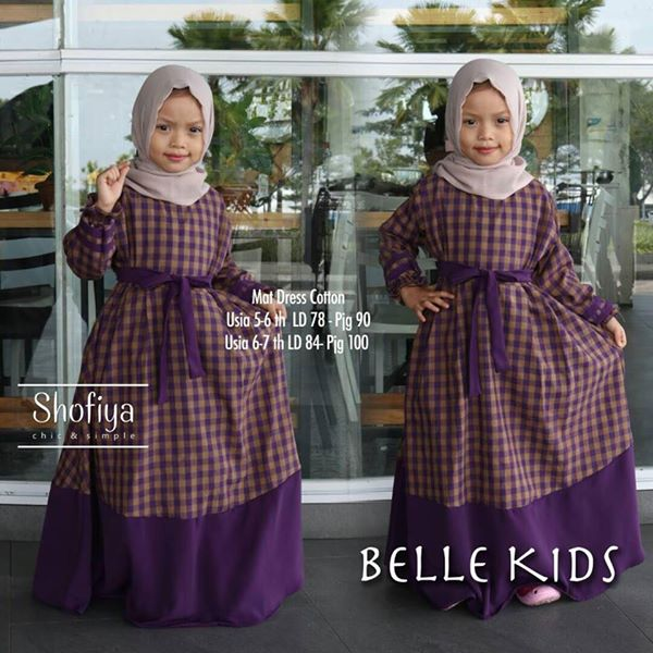 Belle Kids Ungu