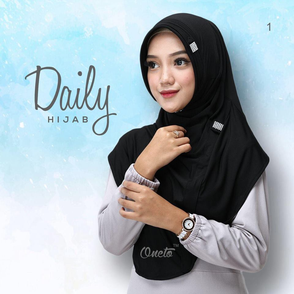 Daily Hijab by Oneto Hitam