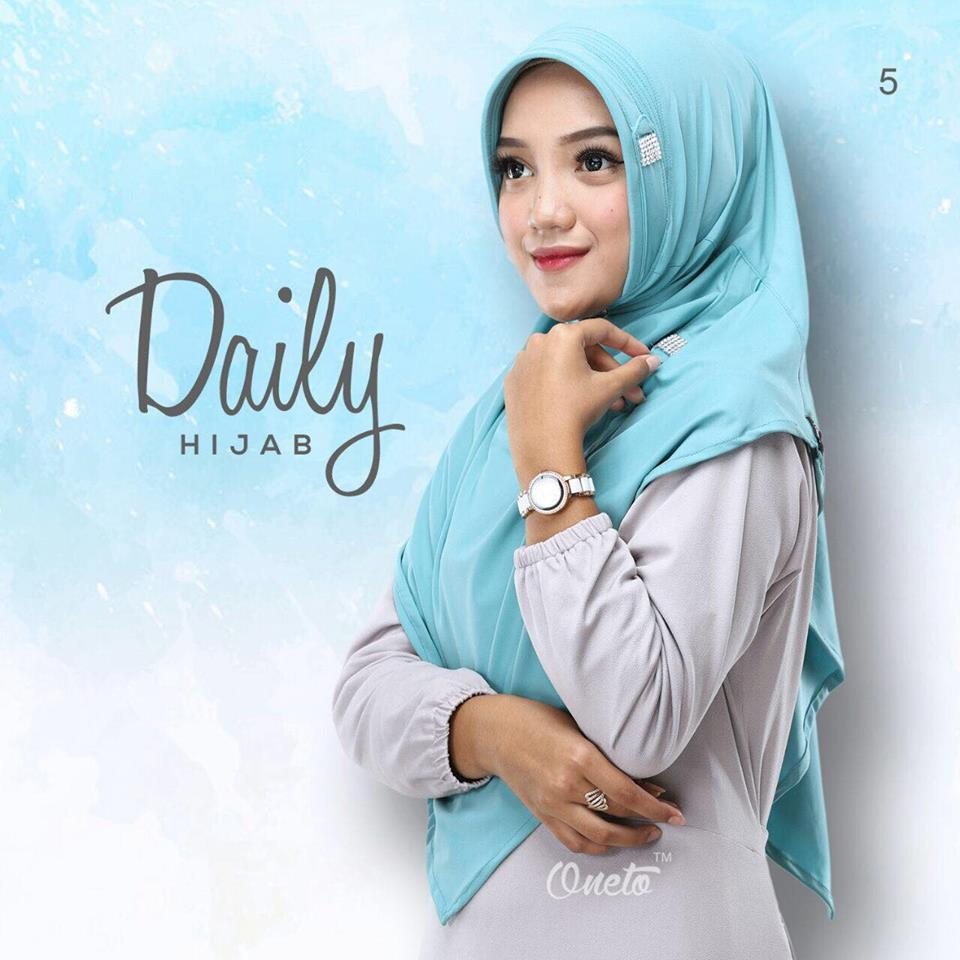 Daily Hijab by oneto blue