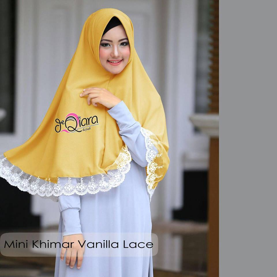 Mini Khimar lime by qiara