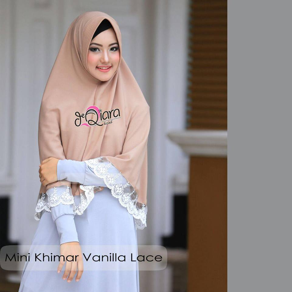 Mini Khimar mocca by qiara