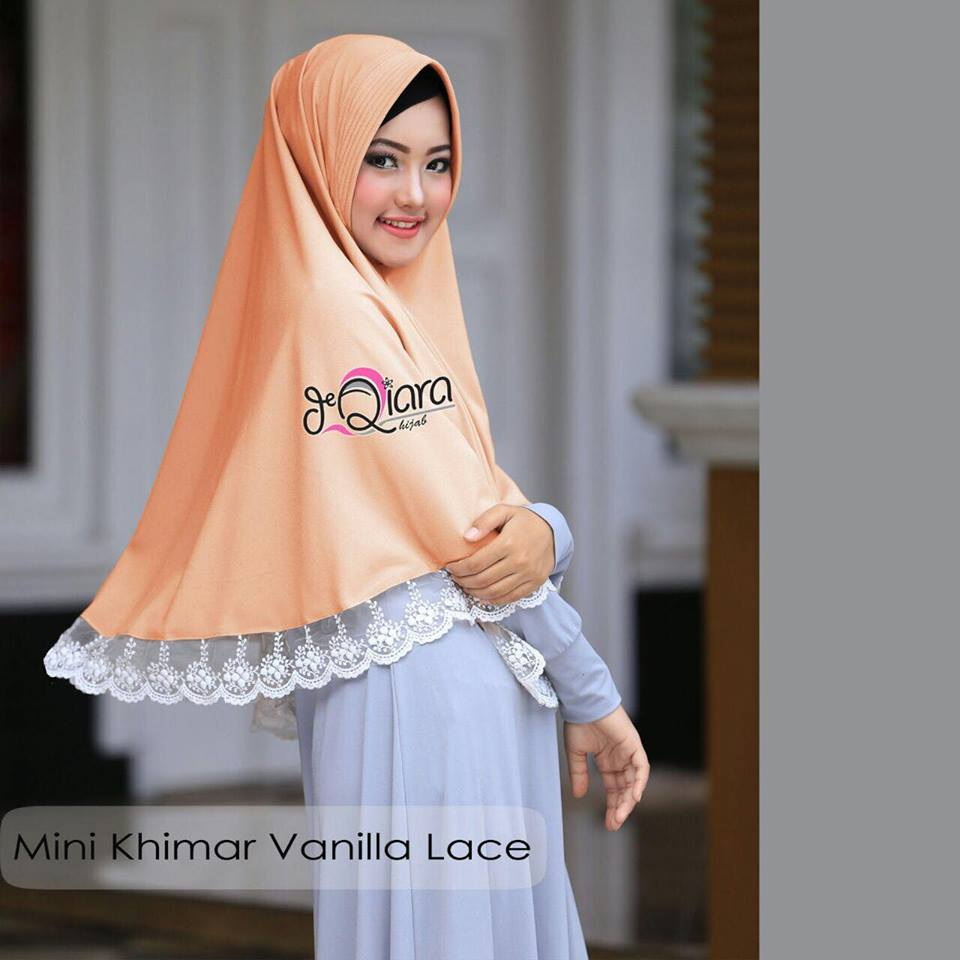 Mini Khimar mustard2 by qiara