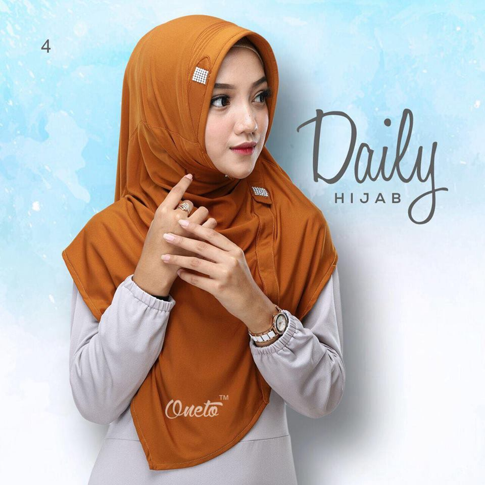 daily hijab by oneto bata