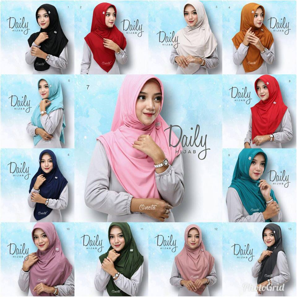 daily hijab by oneto warnawarna