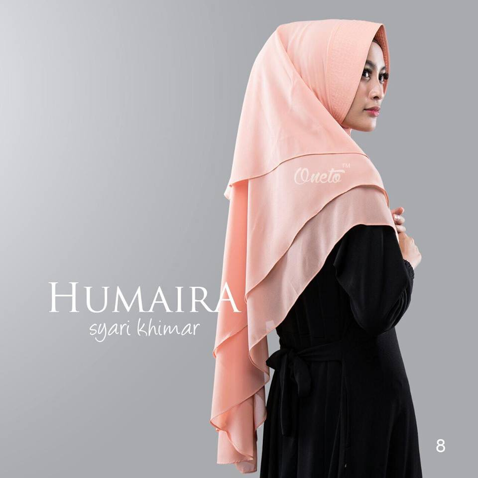 humaira by oneto  peach
