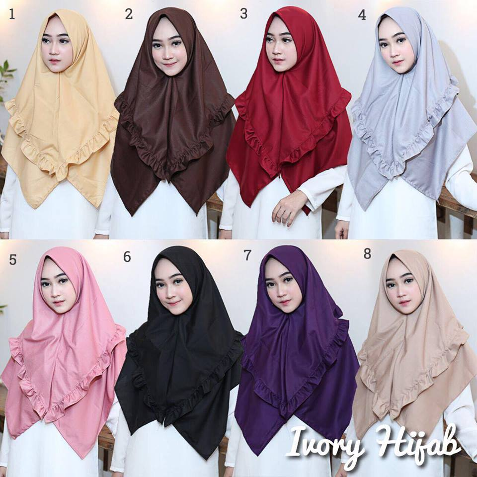 julia hijab by ivory hijab warna warna