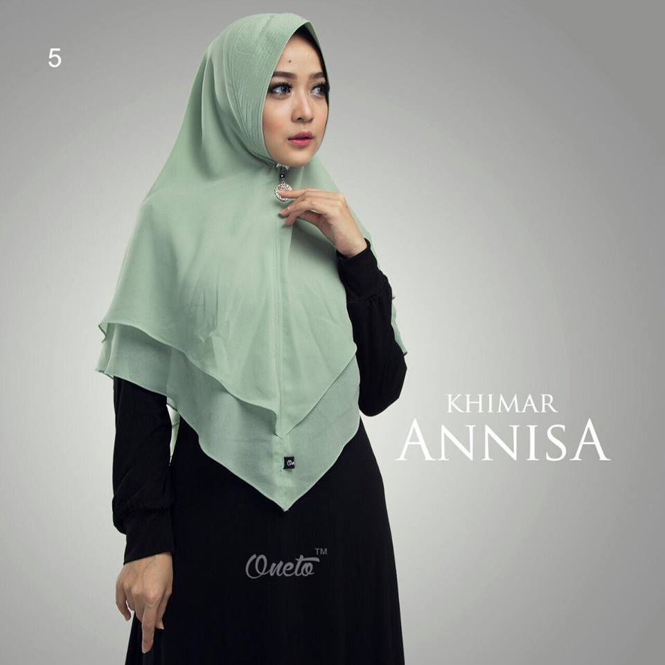 khimar anisa by oneto mint