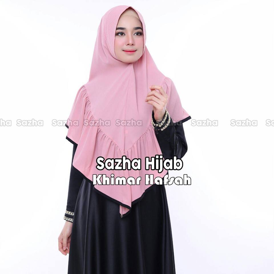 khimar hafsah by sazha hijab dusty2