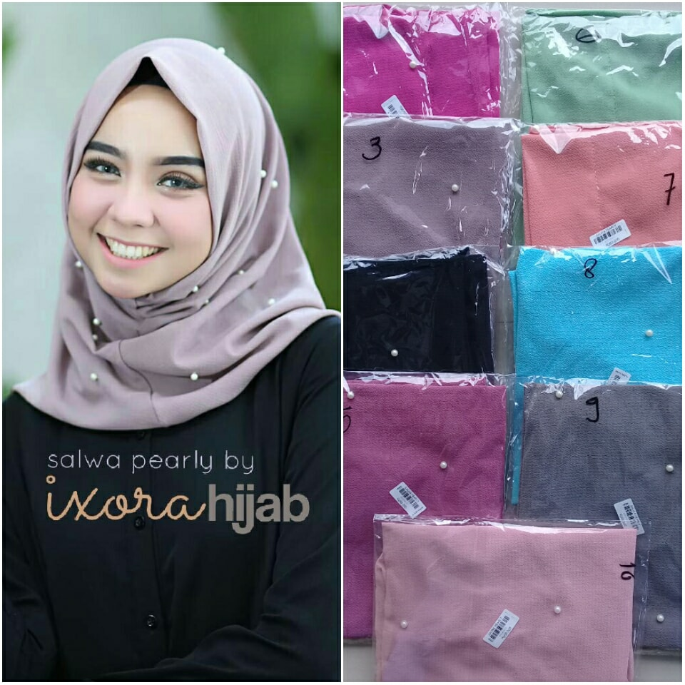 salwa pearly by ivorihijab