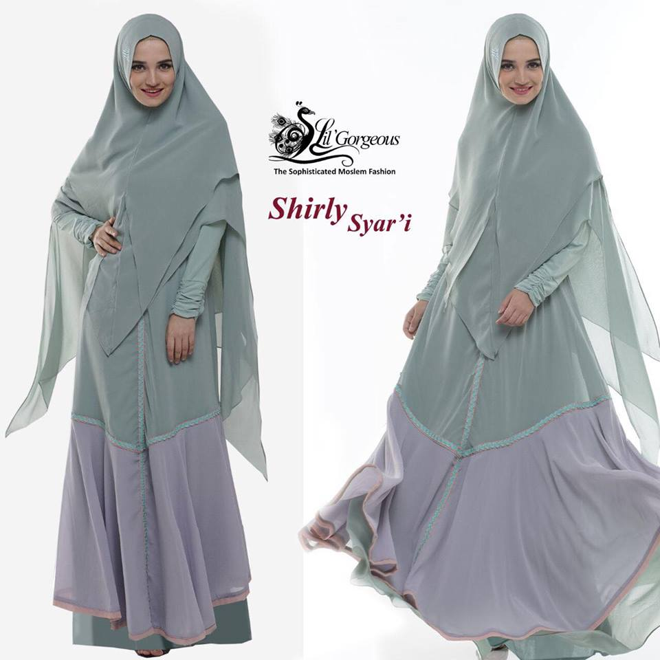 shirly syar'i by lil gorgeous mint