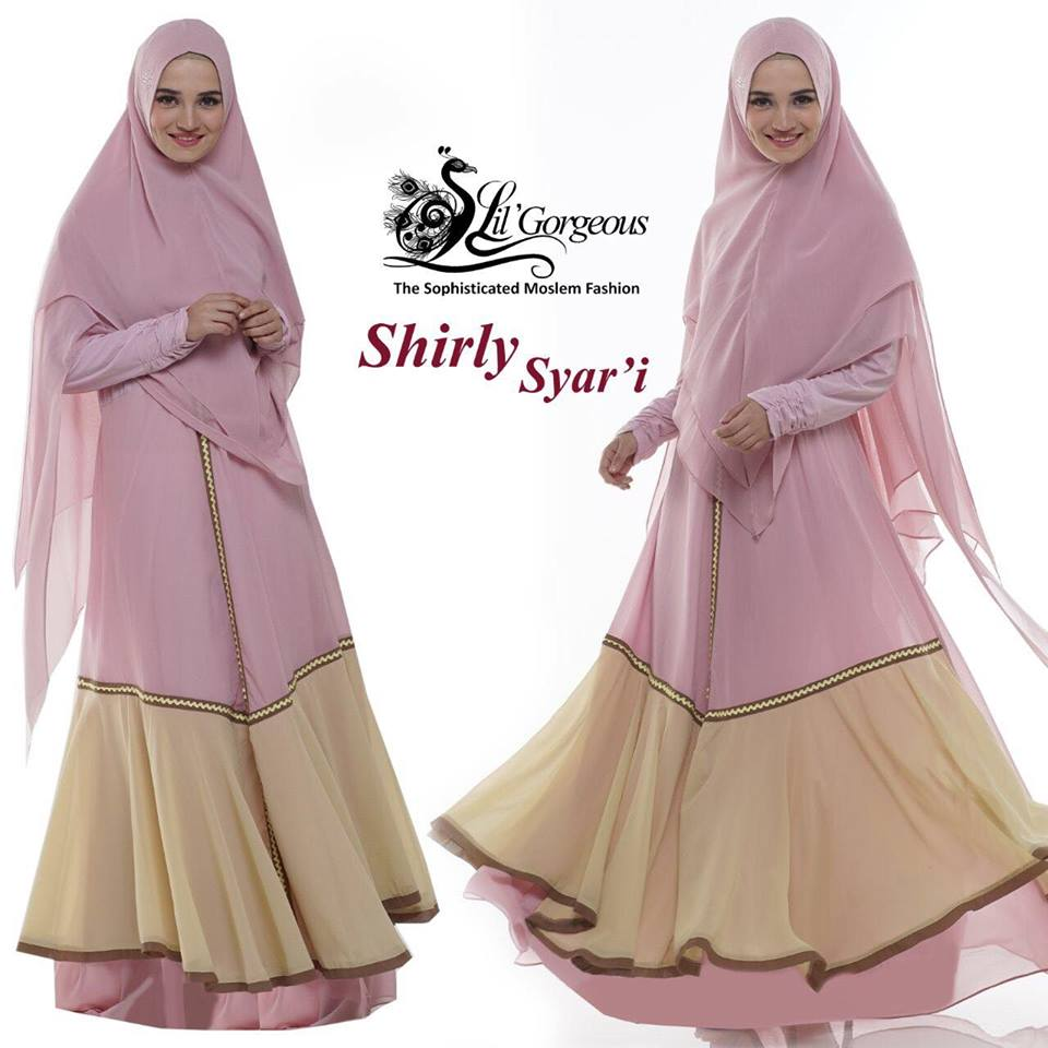 shirly syar'i by lil gorgeous pink