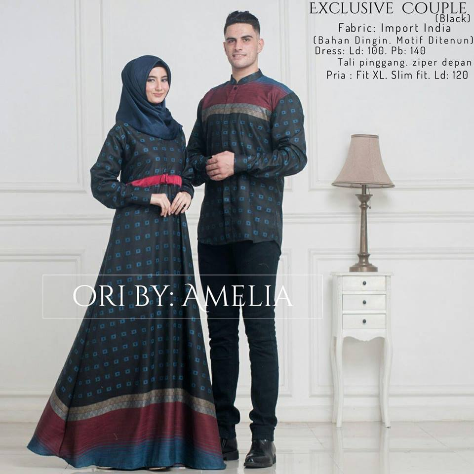 Exclusive couple black