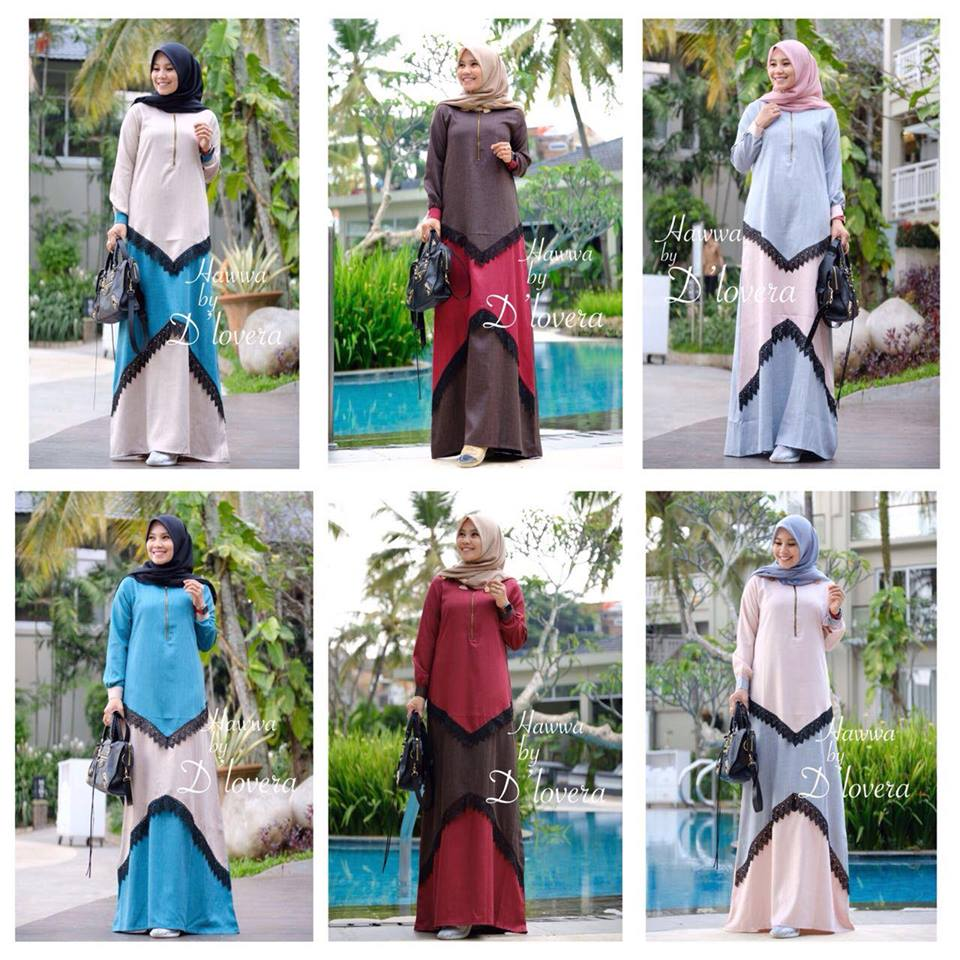 Hawwa dress set seri
