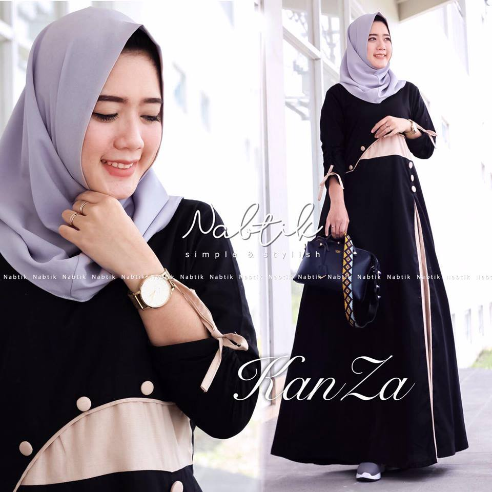 Kanza dress hitam