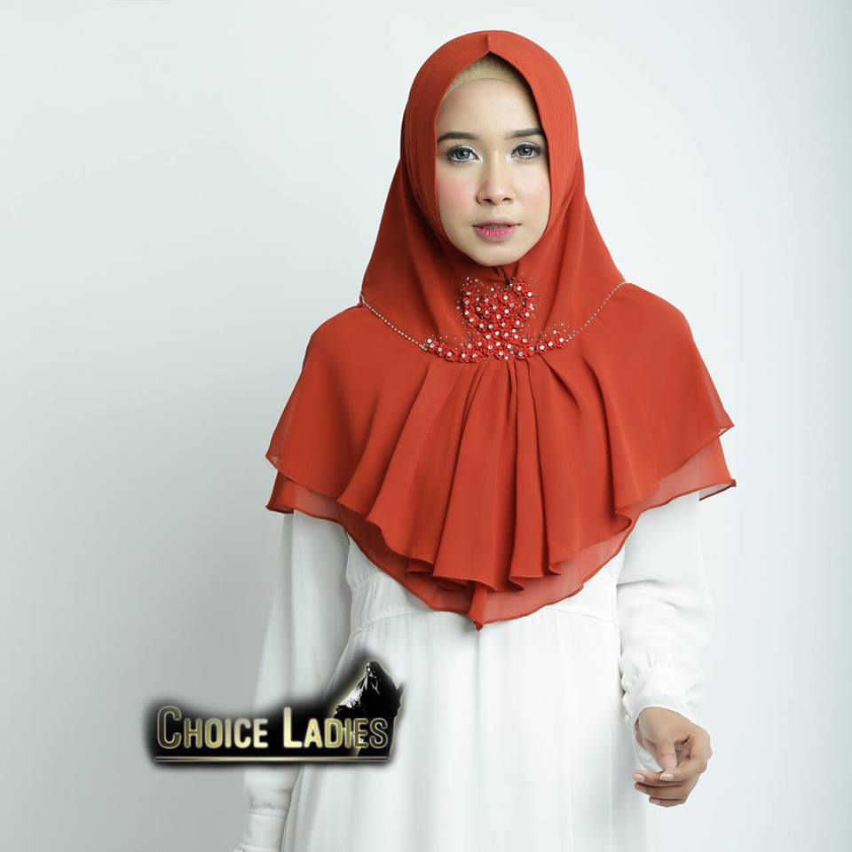 Khimar Oya orange
