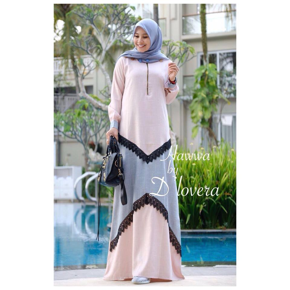 hawwa dress pinkabu