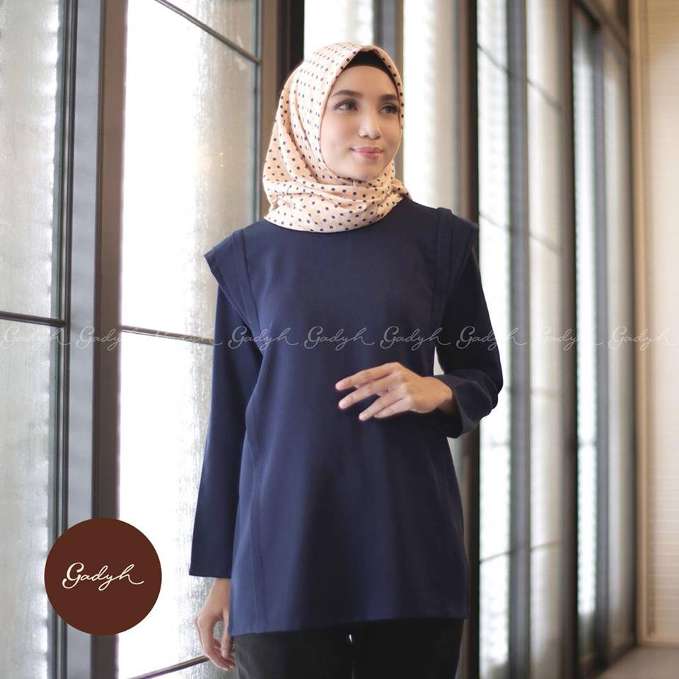 Khabil blouse navy