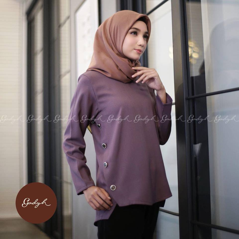 Khabil blouse rosybrown
